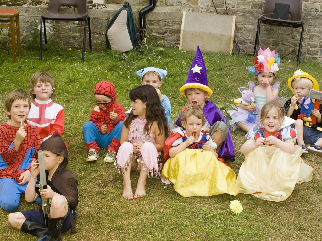 Fancy dress at Thursley Village Hall